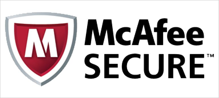 Verified by McAfee